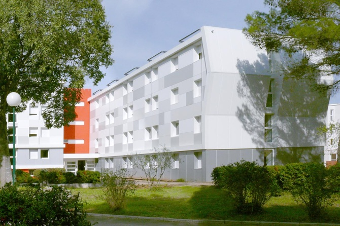 Chambres tudiantes montpellier nbj archi for Chambre universitaire montpellier